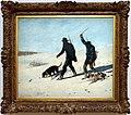 Gustave courbet, bracconieri nella neve, 1867, 01.jpg