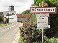 Hénencourt (Somme) panneau d'entrée.jpg