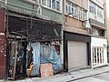 HK 上環 Sheung Wan 太平山街 Tai Ping Shan Street shop gates Thursday morning October 2019 SS2 01.jpg