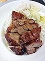 HK 香港理工大學 PolyU 紅磡 Hung Hom Canteen diner food 叉燒 bbq pork meat June 2019 SSG 02.jpg