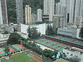 HK CWB HKCL view Tai Hang 08 Chinese Recreation Club tennis courts Causeway Bay Sports Ground.JPG