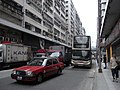 HK Cheung Sha Wan 長沙灣 Castle Peak Road 青山道 Hong Kong Industrial Centre 香港工業中心 KMBus 6A Taxi Oct-2010.JPG