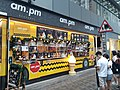HK MK 旺角 Mongkok 彌敦道 Nathan Road 咸美頓街 Hamilton Street shop am-pm Restaurant March 2020 SS2 03.jpg
