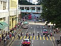 HK Ngau Tau Kok Road Municipal Services Building yellow line crossway visitors Nov-2015 DSC.JPG