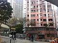HK Sai Ying Pun 西環 山道 54-66 Hill Road residential buildings 適安大廈 Sik On House Feb-2012 trees.jpg