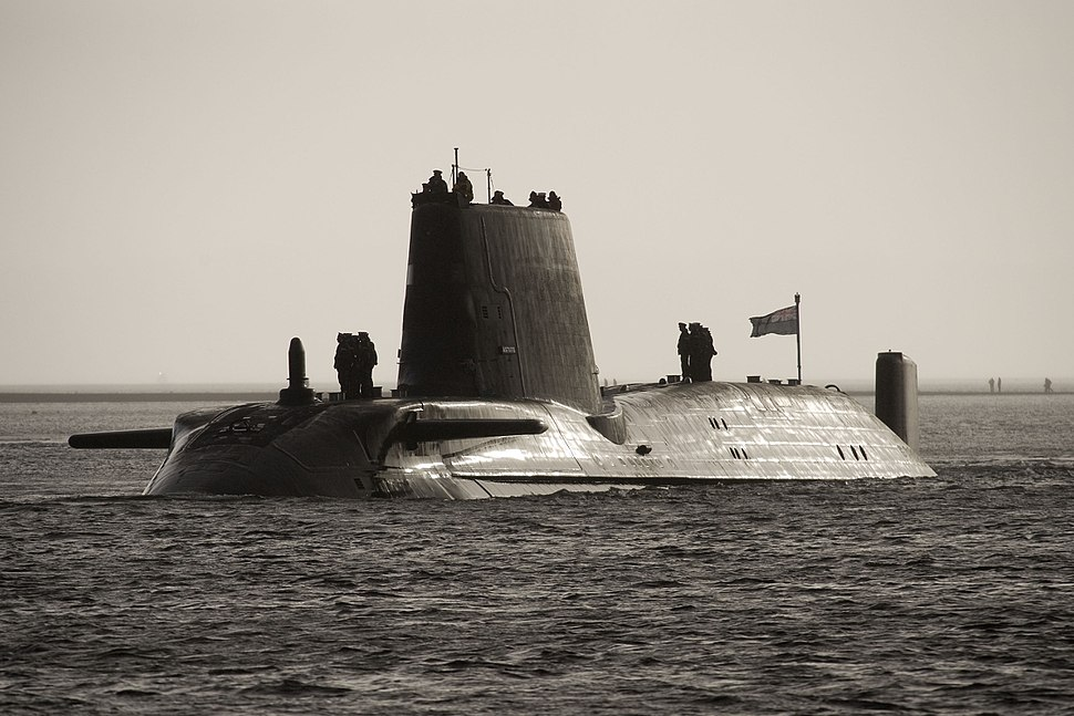 HMS Astute Arrives at Faslane for the First Time MOD 45150806