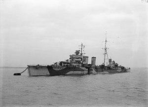 HMS Caledon (D53) - Image: HMS Caledon