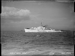 Royal Malaysian Navy - HMS ''Loch Insh'', which later became Malaysia's flagship.