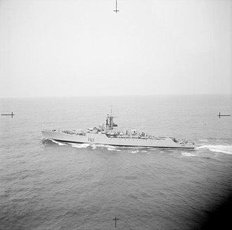HMS Scarborough (F63) - HMS Scarborough, 1963