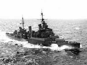 HMS Sheffield (C24) - Image: HMS Sheffield