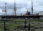 HMS Warrior (ship, 1860) - side view.JPG