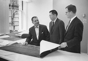 HOK (firm) - HOK founding partners George Hellmuth, Gyo Obata and George Kassabaum
