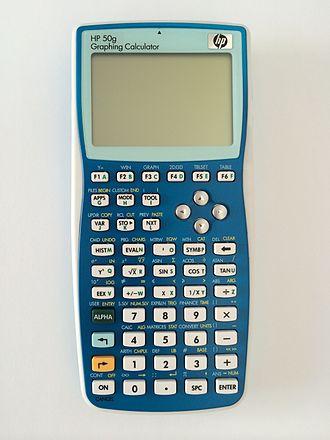 HP 49/50 series - HP 50g in blue