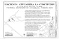 Hacienda Azucarera La Concepcion, Sugar Mill Ruins, .3 Mi. W. of Junction of Rts. 418 and 111, Victoria, Aguadilla Municipio, PR HAER PR,11-VICT,1A- (sheet 1 of 5).png