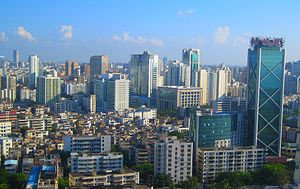 Hainan - The capital city of Haikou, although highly populated relative to many other international cities, is geographically quite small, with almost no urban sprawl. Much of the city limits end abruptly with forest or farm land.