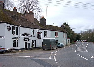 A374 road - The Halfway House, Polbathic