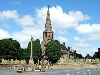 Halsall village and civil parish in West Lancashire, England