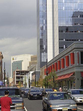 Halsey Street (Newark) - North from Cedar Street