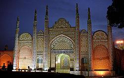 Hamadan - Imamzadeh-ye Hossein - gate.jpg