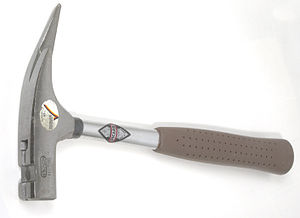 Herbstmusik - Roofing (carpenter's) hammer (Latthammer), specified for the first movement of Herbstmusik