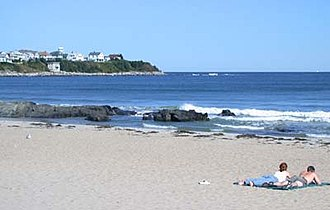 Gulf of Maine - Hampton Beach, New Hampshire, in mid-September 2004