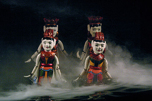 Hanoi Water Puppets - Fairy Dance (3695189852)