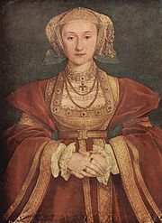 Henry was shown the above picture of Anne of Cleves.