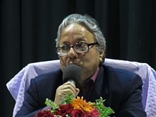 Haraprasad Das at Odia Wikisource meeting,Bhubaneswar.jpg