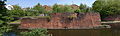 Harborne Railway bridge pier BCN Main Line panorama.jpg