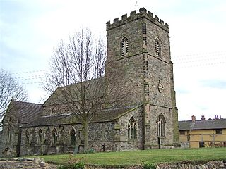 Hathern Village in Leicestershire, England