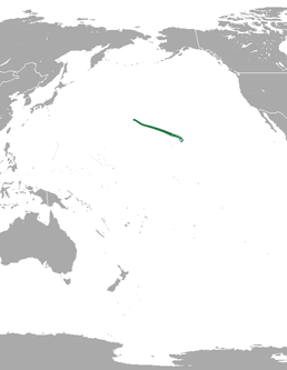 Hawaiian monk seal range