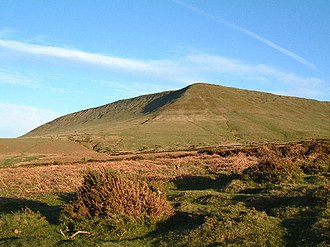 Hay Bluff - Hay Bluff viewed from the north