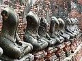 Headless Bodhisattva Figures - Wat Chaiwattanaram - Ayutthaya - Thailand (34099304194).jpg