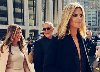Project Runway - Project Runway judges Heidi Klum, Nina Garcia, and Michael Kors