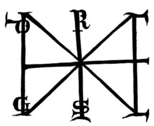 Signum manus - Signum manus of Henry III (1049)