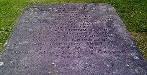 John MacKenzie (doctor) - Memorial to Helen Miller, John MacKenzie's wife.