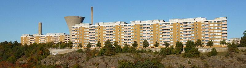 Henriksdalbjerget, vy fra Alpehytten, oktober 2013.