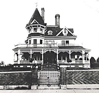 Martinsville, Virginia - Image: Henry Clay Lester house 1