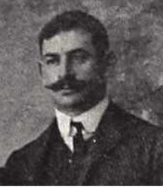 Istanbul Football League - Constantinople Football League founder Henry Pears