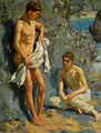 Henry Scott Tuke - After the bath.jpg