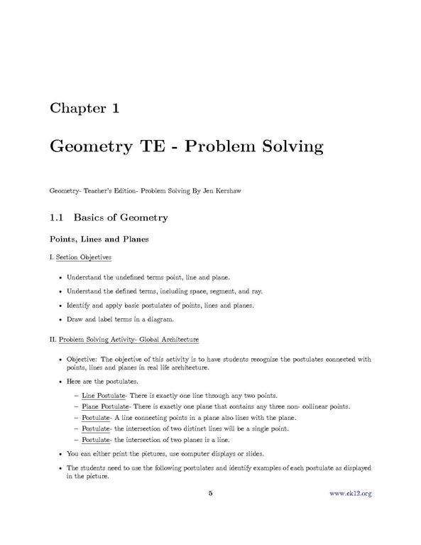 Problem Solving Pdf
