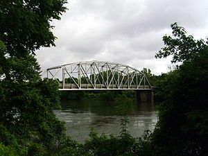 National Register of Historic Places listings in Clark County, Arkansas - Image: Highway 7 and Highway 51 bridge in Arkadelphia, AR 001