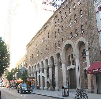 Al Hirschfeld Theatre - Daytime.