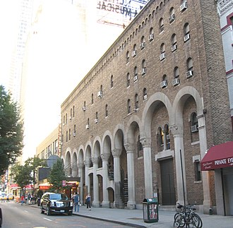 Martin Beck (vaudeville) - The Martin Beck Theater, now the Al Hirschfeld Theatre, at 302 West 45th Street in Manhattan.