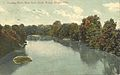 Hocking River, West from South Bridge, Athens, Ohio (14091046925).jpg