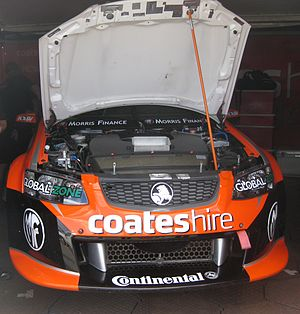 2012 Dunlop V8 Supercar Series - Nick Percat is contesting the series in a Walkinshaw Racing Holden VE Commodore
