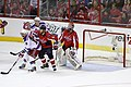 Holtby peers over a crowd (7137931653).jpg
