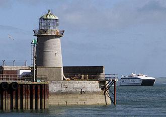 Salt Island, Anglesey - Holyhead Mail Pier Light