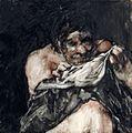 Hombre buscando pulgas en su camisa, Francisco de Goya.jpg