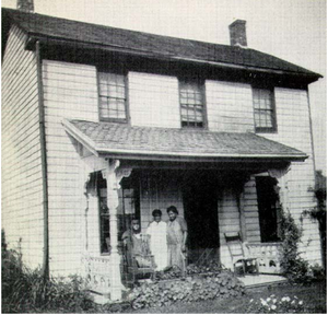 Peter Bruner - Image: Home where Peter Bruner raised his family
